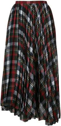 Blugirl tartan midi skirt