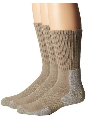 Thorlos Trail Hiking Crew Sock 3-Pair Pack Men's Crew Cut Socks Shoes