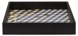 Blue Carreon - Milan Deconstructed Cube Tray - Blue Gold