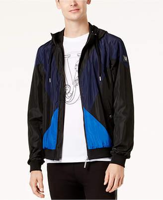 Versace Men's Colorblocked Track Jacket