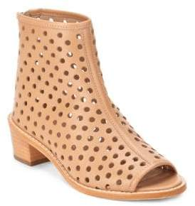 Loeffler Randall Ione Perforated Open Toe Booties
