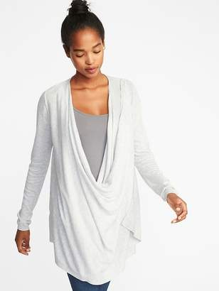Old Navy Maternity Extra-Long Open-Front Nursing Sweater
