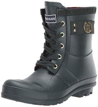 a658c279bc63 Tommy Hilfiger Green Women s Boots - ShopStyle