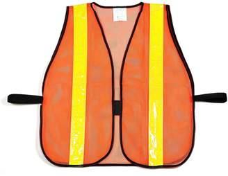 R&K RK Safety Vest with Reflective Stripes - Neon Orange / 10- Pack