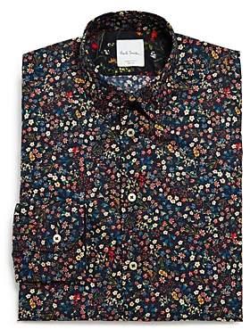 Liberty Floral Slim Fit Dress Shirt