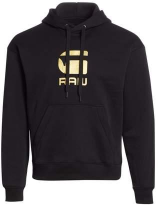 G Star Raw Graphic Logo Hoodie