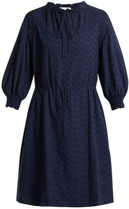 See by Chloe Broderie-anglaise cotton dress