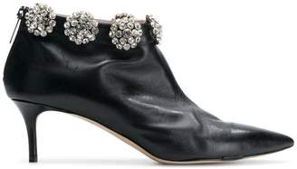 Christopher Kane diamond cluster ankle boot