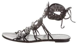 Alexa Wagner Leather Ankle Strap Sandals