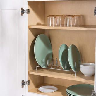 HOME BASICS Home Basics Powder Coated Steel Plate Rack