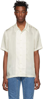 Helmut Lang White Casual Fit Shirt