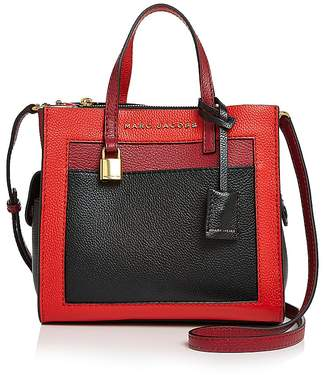 Marc Jacobs Mini Grind Leather Shoulder Bag