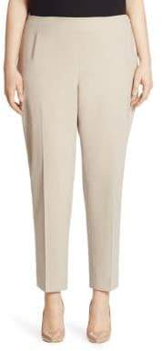 Lafayette 148 New York Lafayette 148 New York, Plus Size Plus Stanton Italian Stretch-Virgin Wool Pants