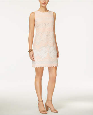 Tommy Hilfiger Burnout Lace Sheath Dress