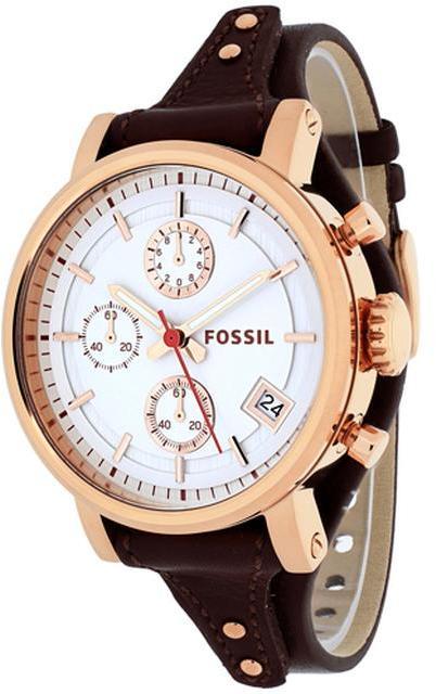 FossilFossil Original Boyfriend ES3616 Women's Stainless Steel Watch Chronograph