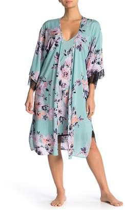 Midnight Bakery Marley Floral Duster Robe