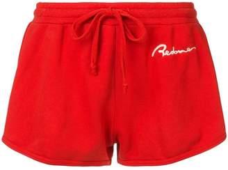 RE/DONE logo runner shorts