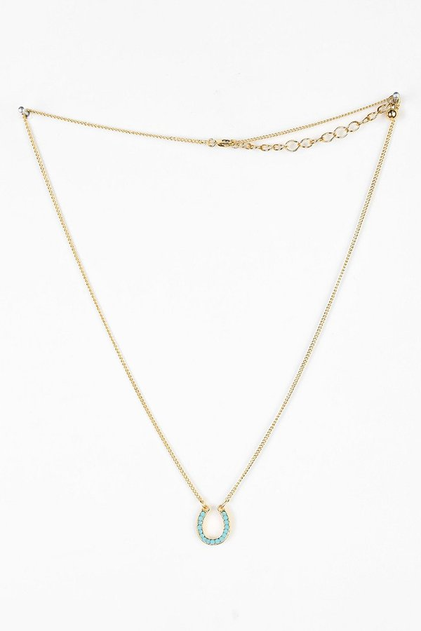 UO Stone Charm Necklace