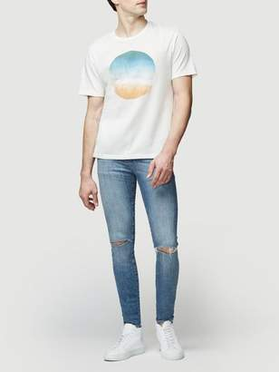 Frame Short Sleeve Sunset Tee