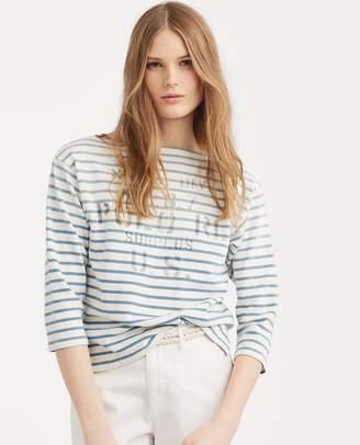 Ralph Lauren Striped Boatneck T-Shirt