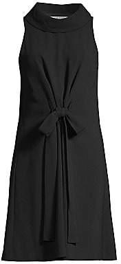 Trina Turk Women's Eastern Lux Jun Tie-Front Sleeveless Dress