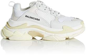 Balenciaga Women's Triple S Leather & Mesh Sneakers