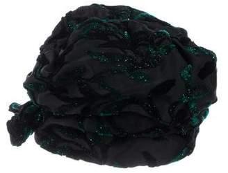 Christian Dior Satin Turban