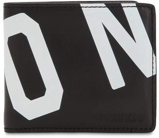 DSQUARED2 Icon Printed Leather Classic Wallet