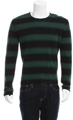Ami Alexandre Mattiussi Striped Crew Neck Sweater w/ Tags