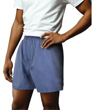 Gildan Men's Premium Soft Cotton Woven Boxers, 2 pack