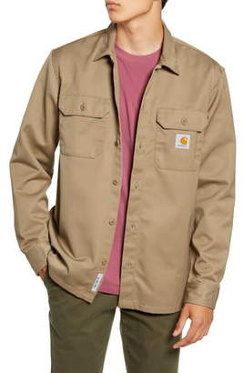 Carhartt Work In Progress Master Denison Twill Shirt Jacket