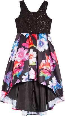 Nanette Lepore Lace & Sequin High/Low Dress