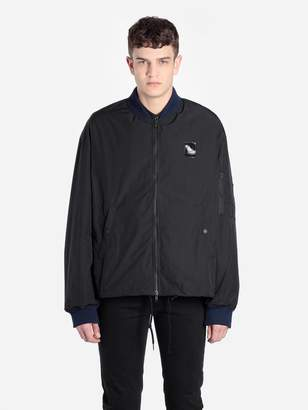 Raf Simons Fred Perry X FRED PERRY X MEN'S BLACK NYLON JACKET