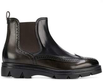 Santoni slip-on ankle boots