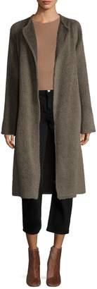 Helmut Lang Women's Alpaca Wool Shaggy Fur Coat