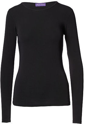 Ralph Lauren Crewneck Long-Sleeve Tee $350 thestylecure.com