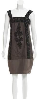 Marni Embellished Mini Dress