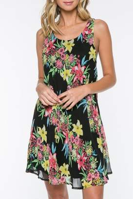 Everly Floral Shift Dress $48 thestylecure.com
