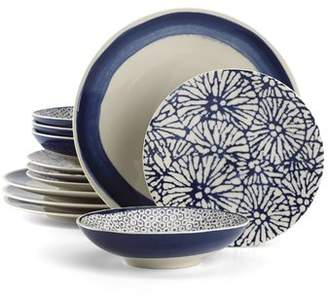 Lenox Market Place Indigo 12 Piece Set, Service for 4