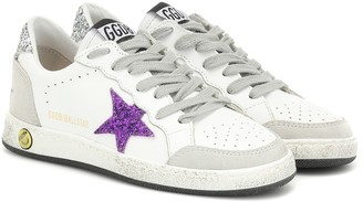 Golden Goose Kids Ball Star leather sneakers