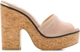 Jimmy Choo Deedee 125 wedge sandals