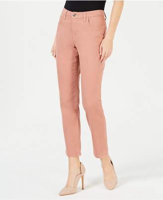 Lee Platinum Petite Straight-Leg Jeans