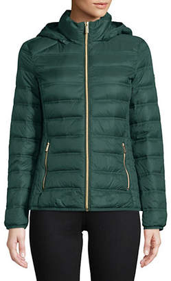 MICHAEL Michael Kors 25' Short Packable Hunter Jacket