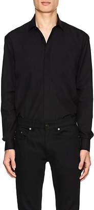 Saint Laurent Men's Cotton Poplin Shirt