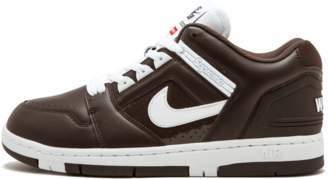 Nike SB AF2 Low 'Supreme' - Baroque Brown/White