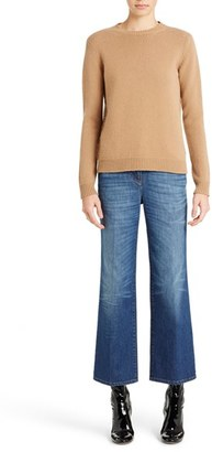 Women's Valentino Studded Crewneck Cashmere Sweater $2,290 thestylecure.com