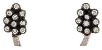 Cathy Waterman Platinum Diamond Grape Cluster Studs