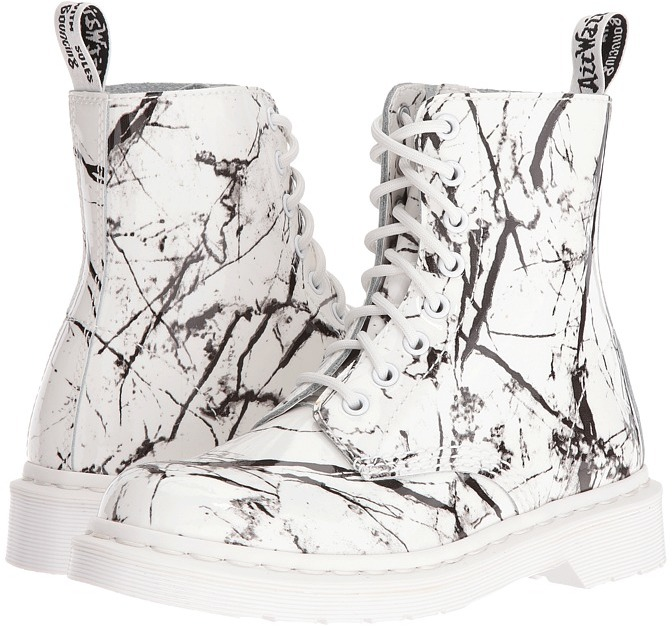 Dr. Martens Dr. Martens Pascal Marble 8-Eye Boot