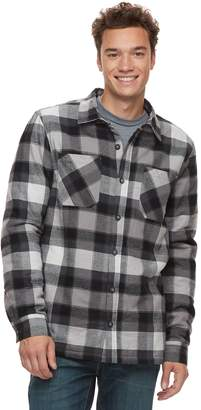 Vans Men's Make Mind Sherpa-Lined Shirt Jacket