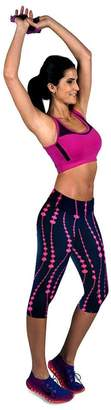 Susenstone High Waist Fitness Yoga Sport Pants Printed Stretch Cropped Leggings (, M)